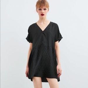 NWT's Polka Dot Zara Dress Size Small